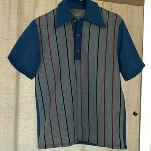 Vintage Mens Rockabilly Shirt